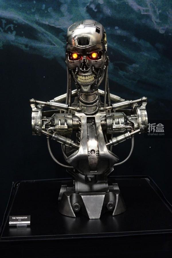 终结者Terminator T-800 1:1胸像
