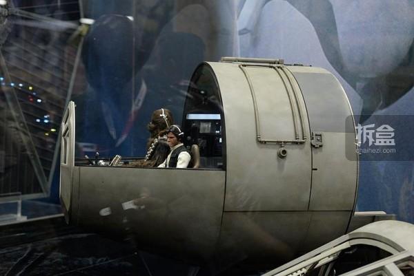 《星球大战》千年隼号驾驶室