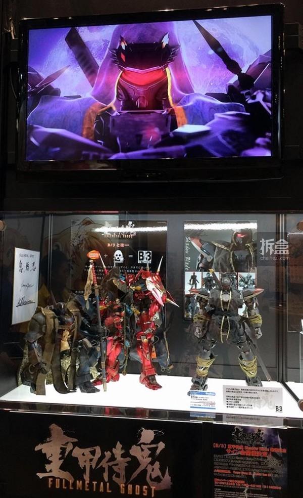 threezero x Bandai「重甲侍鬼」系列、新品忍者藏影
