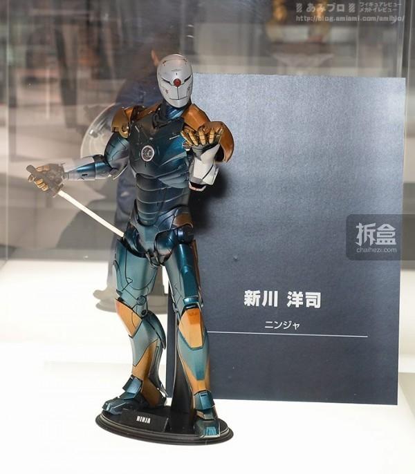 合金装备系列的美术总监:新川洋司 设计的钢铁侠