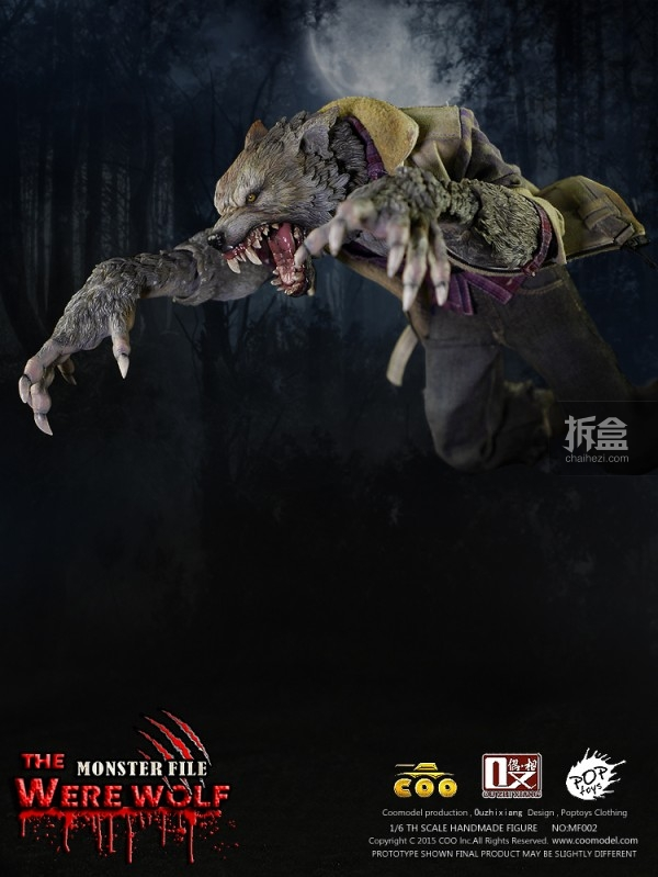 coolmodel-Were Wolf-preorder(9)