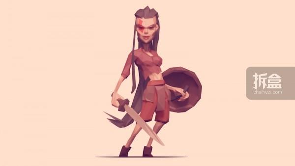 Sheild Maiden 持盾少女