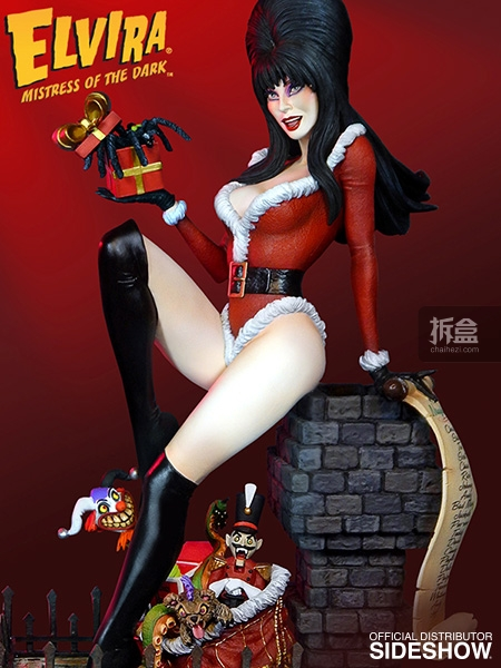 sideshow-Elvira-Scary Christmas