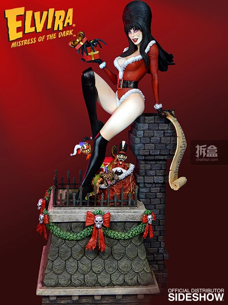 sideshow-Elvira-Scary Christmas(1)