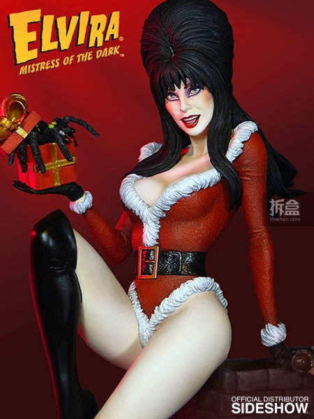sideshow-Elvira-Scary Christmas(2)