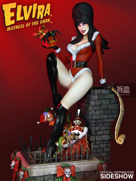 sideshow-Elvira-Scary Christmas(3)
