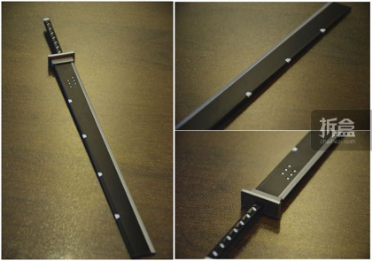 ▲大屠刀,材质比较软,涂装中规中矩。