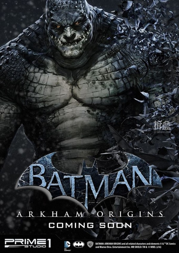 Killer Croc from Batman Arkham Origins