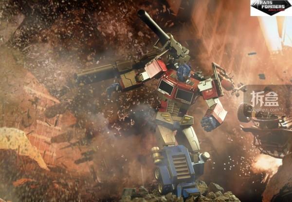 ht-Optimus Prime Megatron Version