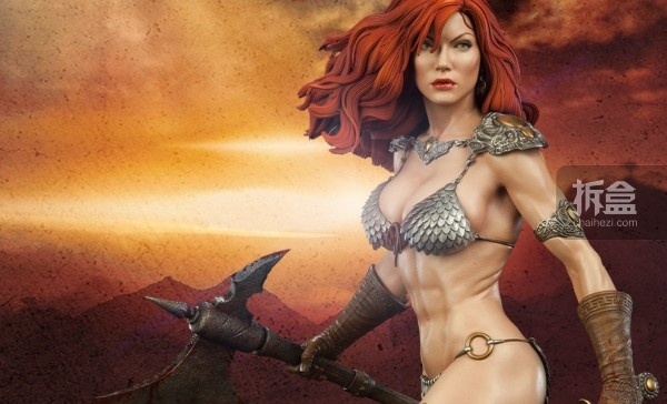 sideshow-Red Sonja-sword-pf