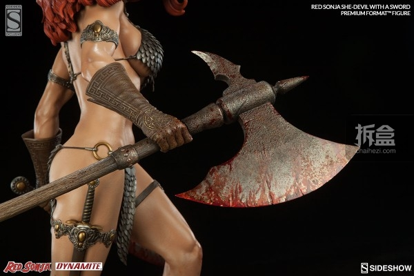 sideshow-Red Sonja-sword-pf(13)