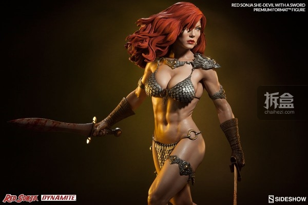 sideshow-Red Sonja-sword-pf(2)