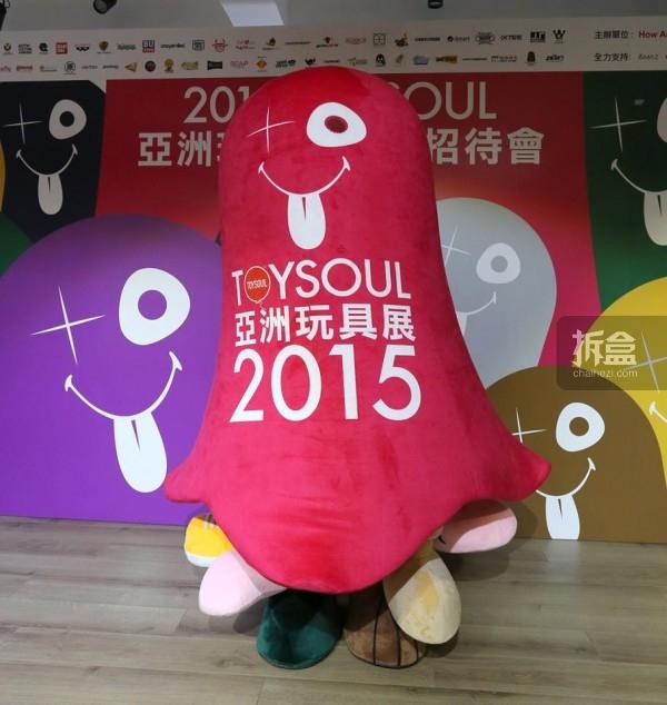 TOYSOUL吉祥物由香港玩具教父Michael Lau设计