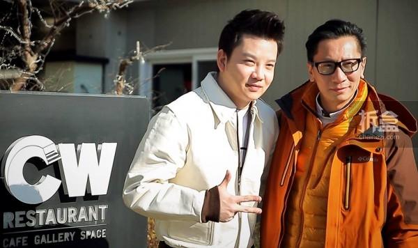 Howard Chan和CW老板Woong Cho
