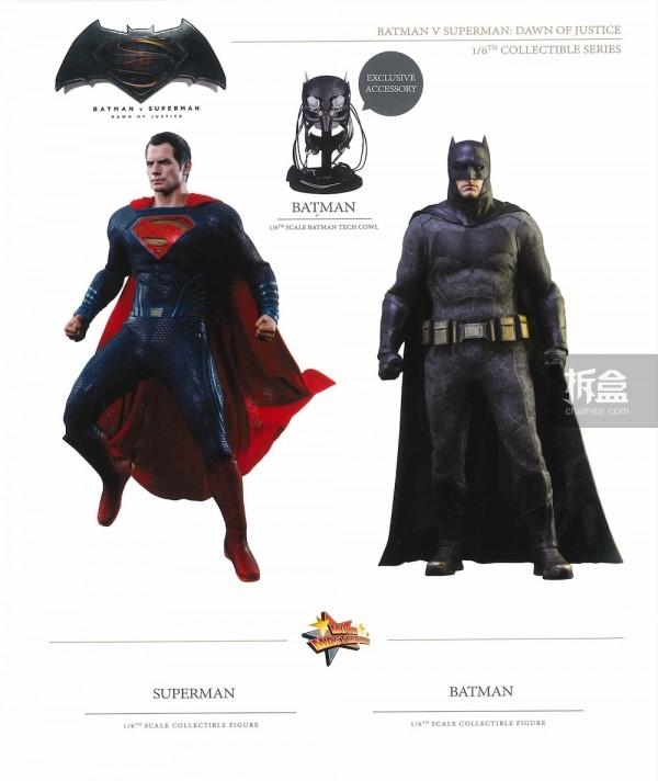 《蝙蝠侠大战超人》蝙蝠侠&超人