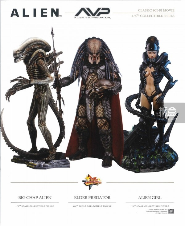 异形big chap alien、铁血战士