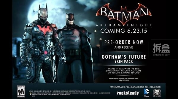游戏:《蝙蝠侠:阿卡姆骑士》中的Batman Beyond & Dark Knight Returns 皮肤