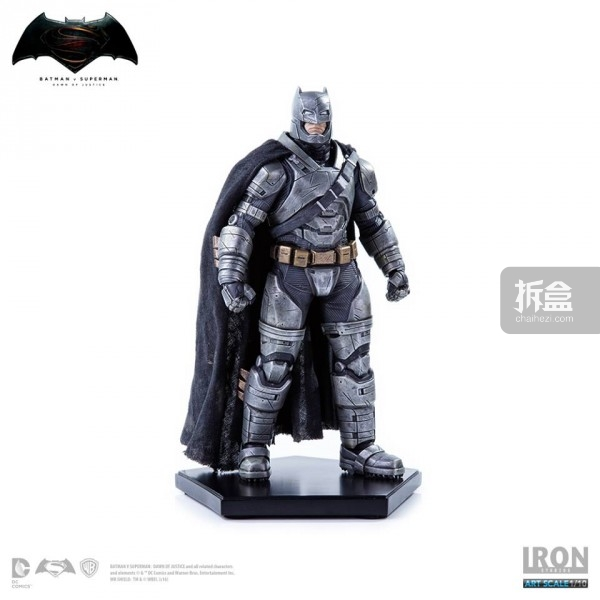Iron Studios重甲蝙蝠侠1:10雕像