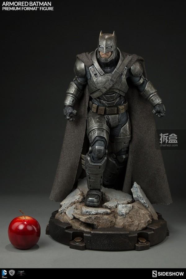 Sideshow《蝙蝠侠大战超人》 23寸蝙蝠侠重甲版 PF系列雕像