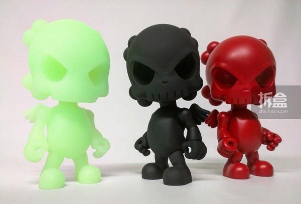 DesignerCon限定款 The Skullhead Blank - v1.0