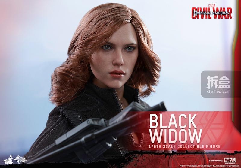 Hot Toys - Captain America Civil War - Black Widow Collectible Figure PR..._11_