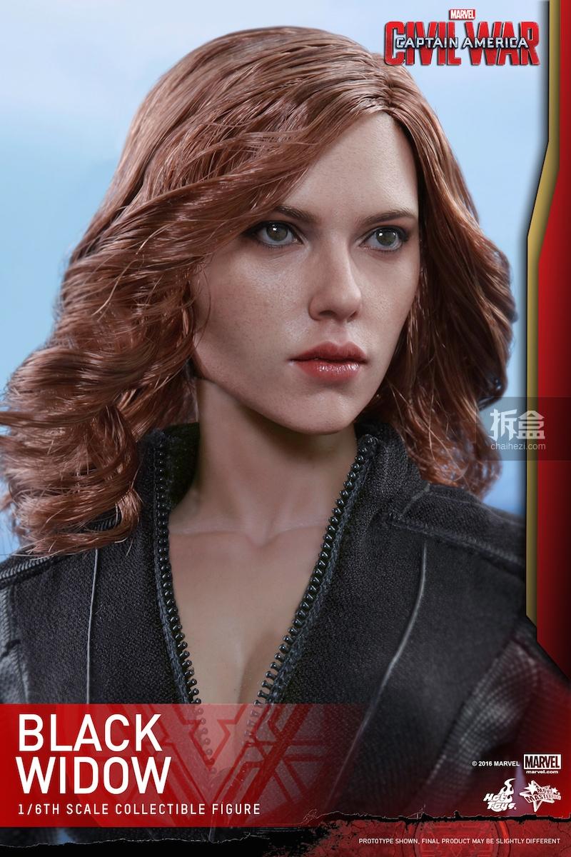 Hot Toys - Captain America Civil War - Black Widow Collectible Figure PR..._12_