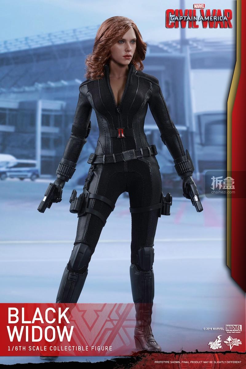 Hot Toys - Captain America Civil War - Black Widow Collectible Figure PR..._1_