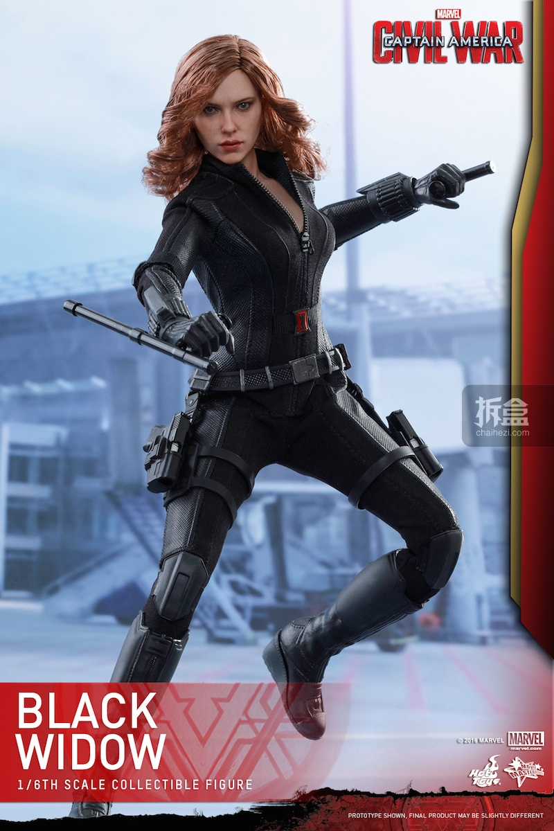Hot Toys - Captain America Civil War - Black Widow Collectible Figure PR..._2_