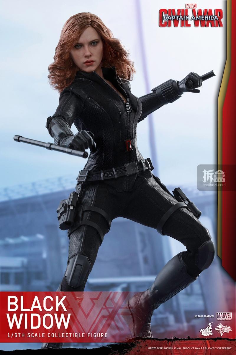 Hot Toys - Captain America Civil War - Black Widow Collectible Figure PR..._3_