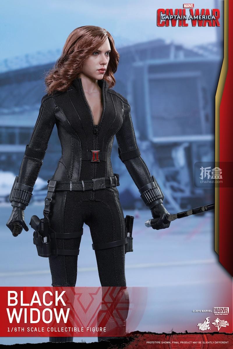 Hot Toys - Captain America Civil War - Black Widow Collectible Figure PR..._4_