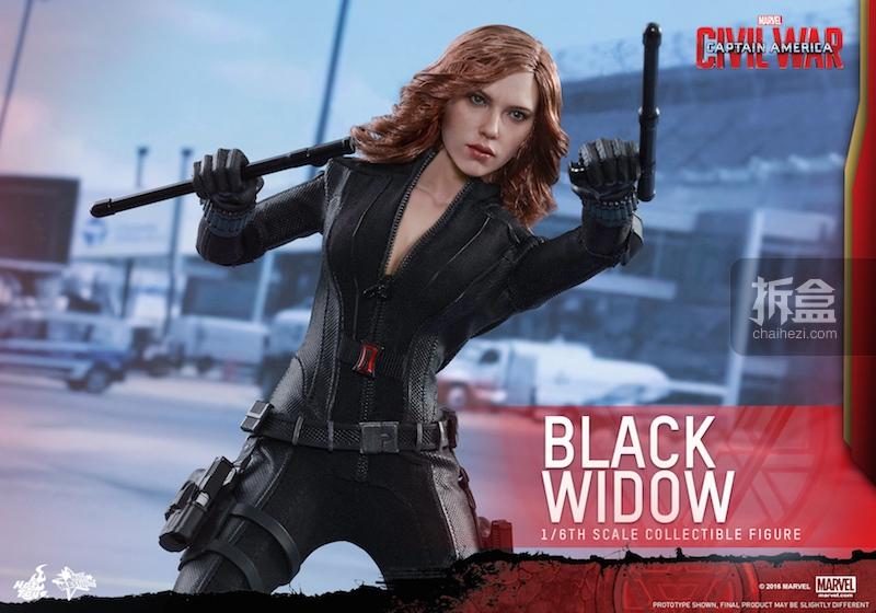 Hot Toys - Captain America Civil War - Black Widow Collectible Figure PR..._5_