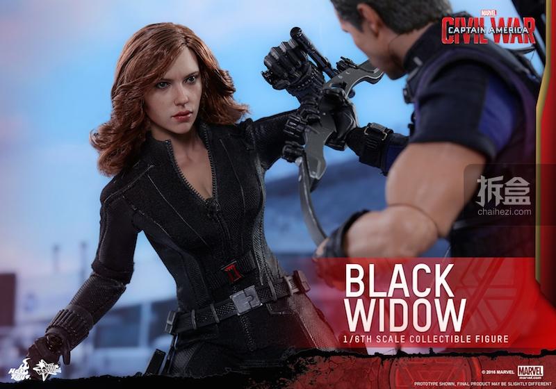 Hot Toys - Captain America Civil War - Black Widow Collectible Figure PR..._6_