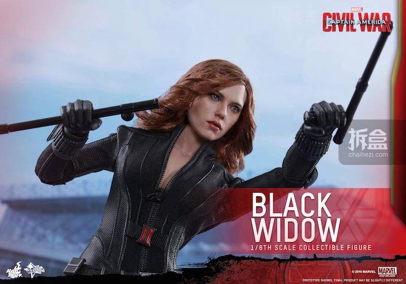 Hot Toys - Captain America Civil War - Black Widow Collectible Figure PR..._8_