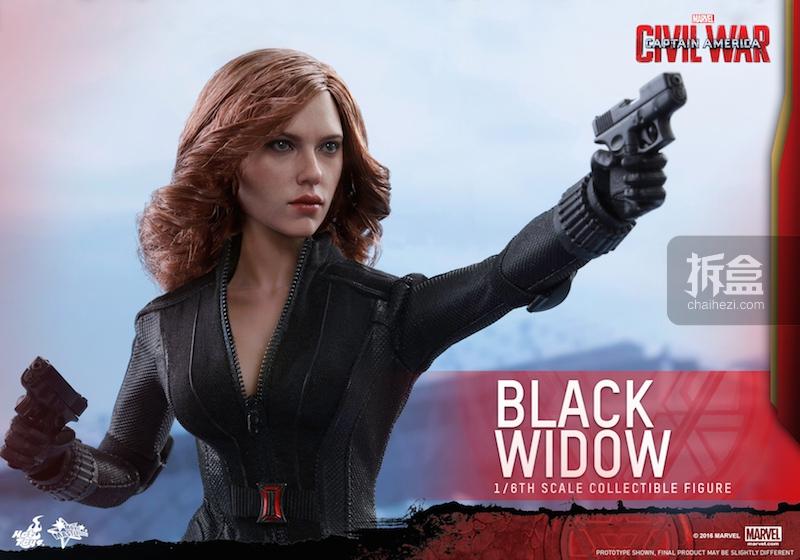 Hot Toys - Captain America Civil War - Black Widow Collectible Figure PR..._9_