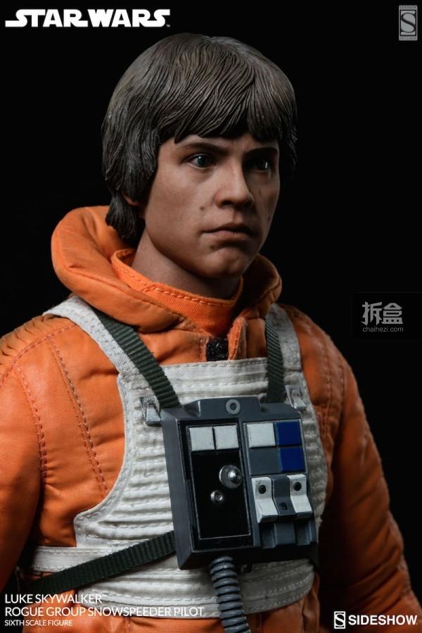 Luke Skywalker Rogue Group Snowspeeder Pilot (10)