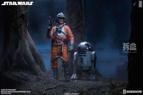 Luke Skywalker Rogue Group Snowspeeder Pilot (11)