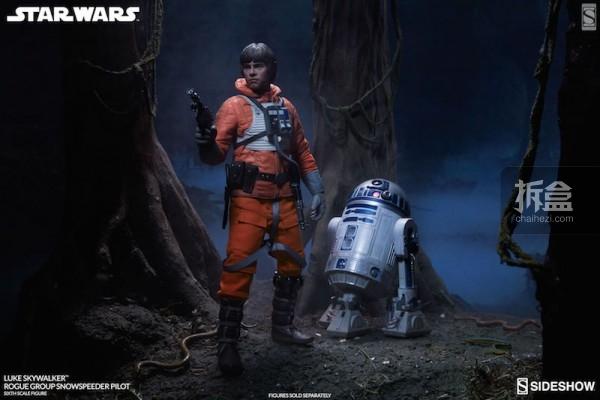 Luke Skywalker Rogue Group Snowspeeder Pilot (12)