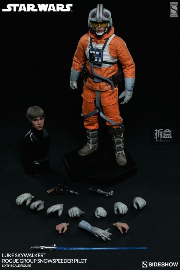 Luke Skywalker Rogue Group Snowspeeder Pilot (13)
