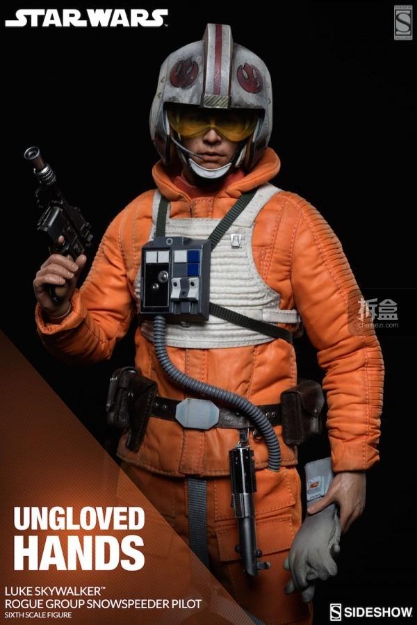 Luke Skywalker Rogue Group Snowspeeder Pilot (14)