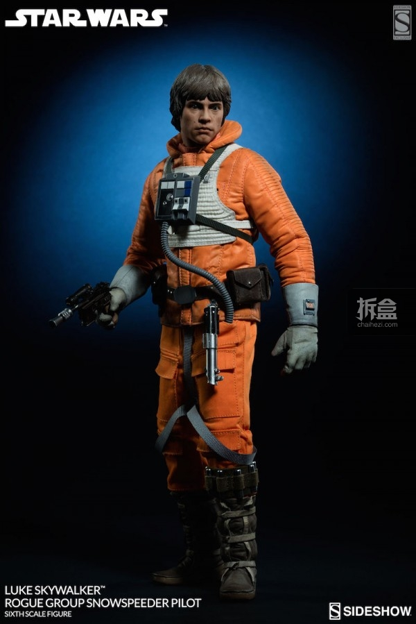 Luke Skywalker Rogue Group Snowspeeder Pilot (3)