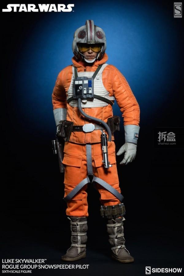 Luke Skywalker Rogue Group Snowspeeder Pilot (6)