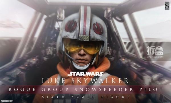 Luke Skywalker Rogue Group Snowspeeder Pilot