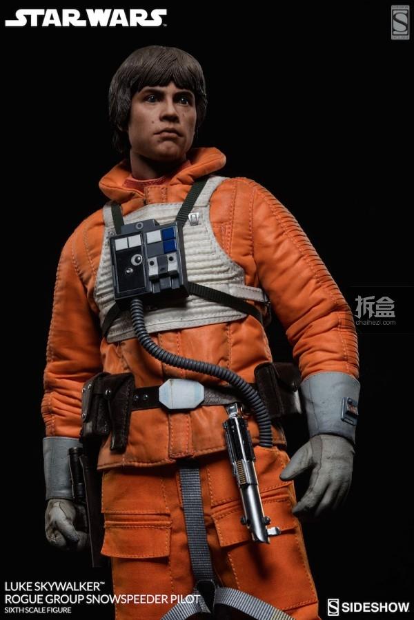 Luke Skywalker Rogue Group Snowspeeder Pilot (7)