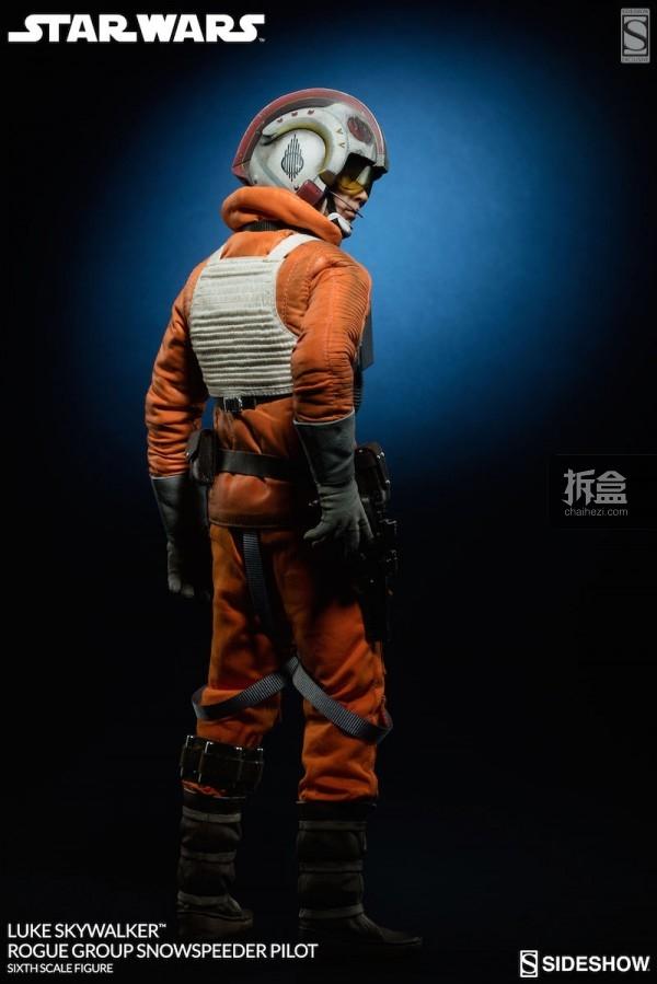 Luke Skywalker Rogue Group Snowspeeder Pilot (8)