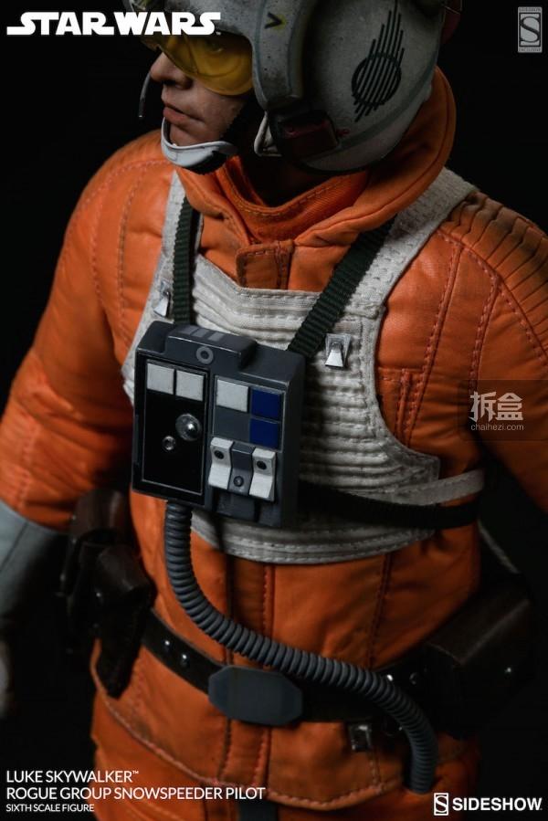 Luke Skywalker Rogue Group Snowspeeder Pilot (9)