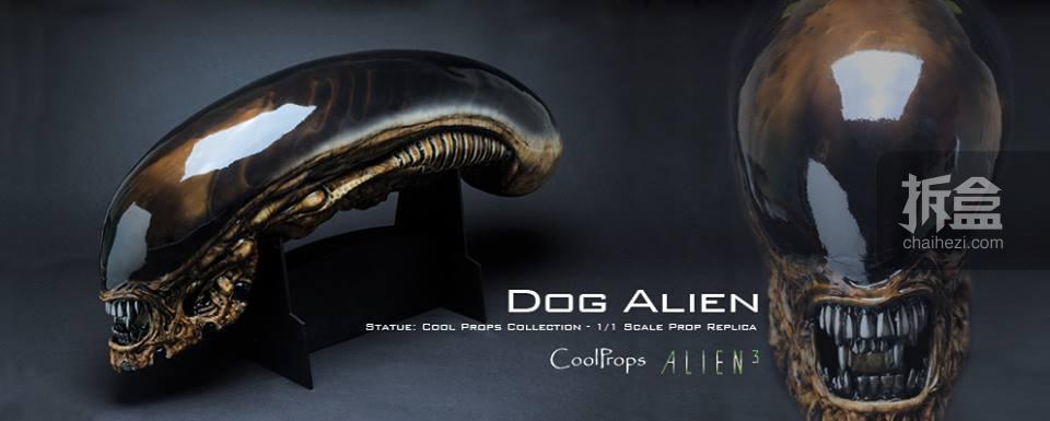 CoolProps《异形3》异形狗Dog Alien 1:1头雕(东京Toy Sapience异形展限定)