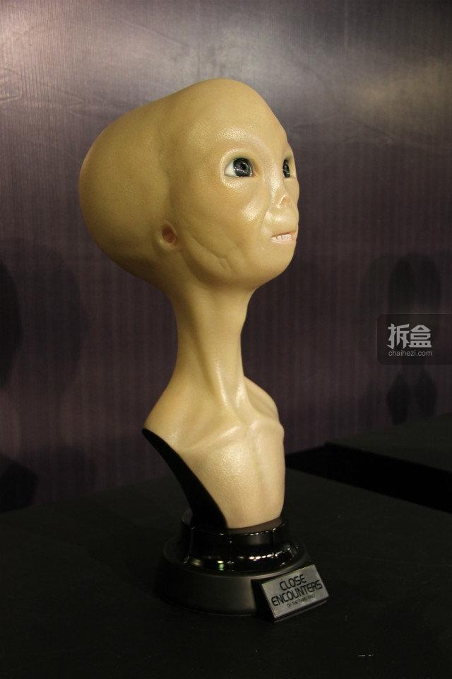 斯皮尔伯格导演:第三类接触,外星人胸像