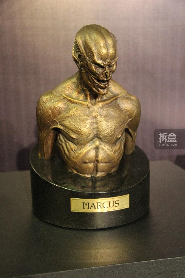 《暗夜传说:进化》 马库斯铜像