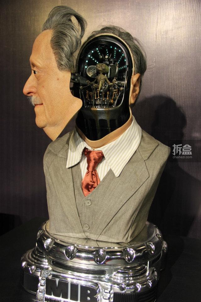 黑衣人第一部:罗森博格外星人胸像