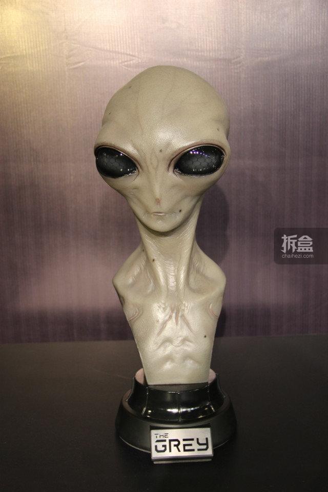 外星人Grey 胸像